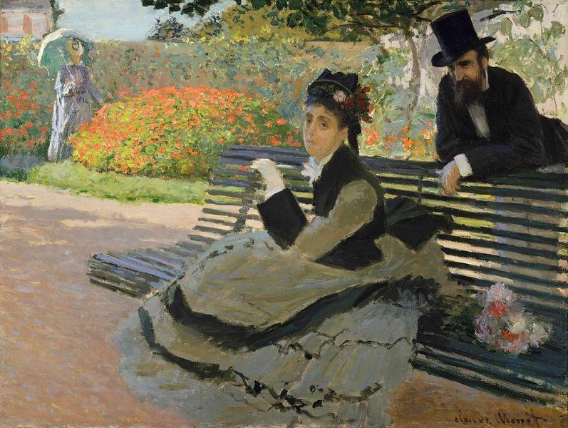 Camille Monet Van Claude Monet Van Marieke De Koning Op Canvas