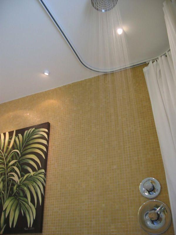 Oval Shower Rod
