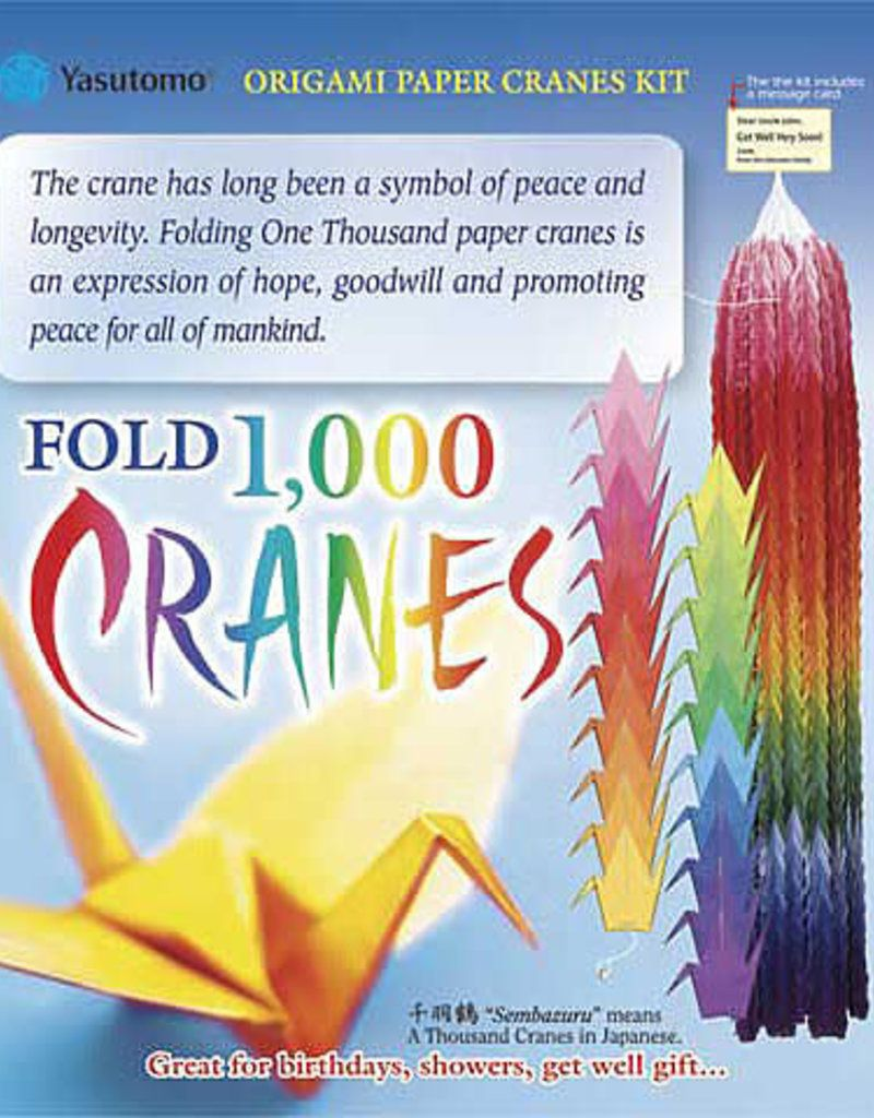 Origami 1000 Cranes Kit | collage - collage