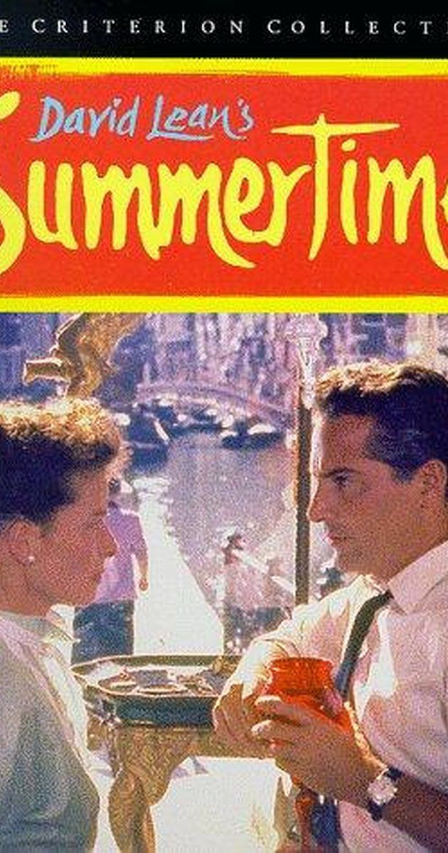 Summertime (UK | USA, 1955 | French title: Vacances à Venise) David Lean's classic about a middle-aged, unmarried American woman on her dream vacation in Venise who finds unexpected love, is beautifully cast, filmed and costumed. Lean's camera lovingly embraces the beauty of Venise. Re-released in 2016 in Paris, this is wonderful on the big screen. 3.6 stars