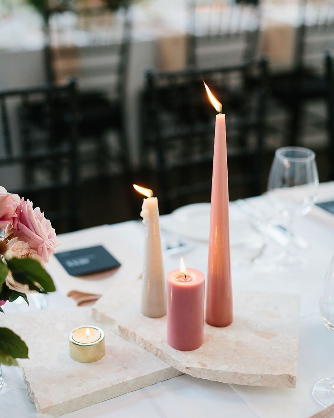 Our Beautiful Pavlova Terrazzo Pieces Were The Starting Point For The Styling Elements Of Emily Corey S R Wedding Table Settings Wedding Contemporary Wedding