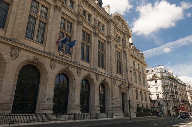 Universidade Sorbonne, localizada no Quartier Latin #viagem #turismo