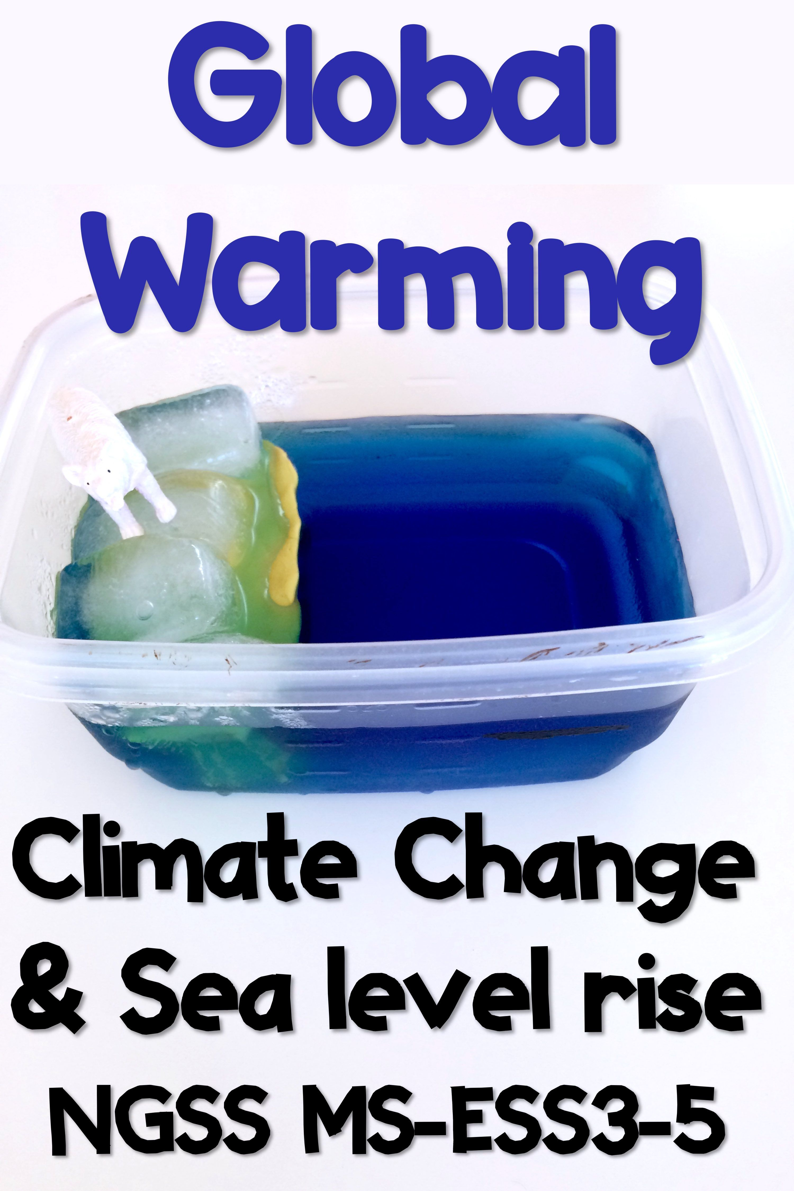 Climate Change And Global Warming Activities For Ms Ess3 5