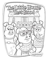 Petunia Rhubarb Coloring Page - Free VeggieTales Coloring Pages ... | 245x198