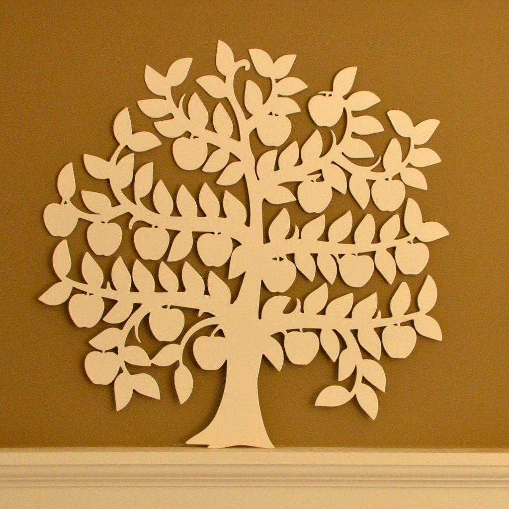 Apple Tree - Tree of Life Metal Wall Art | Metal wall art, Metal ...