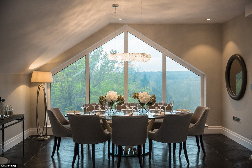 Penthouse dining area. It's no surprise the property is turning heads among Premiership fo...