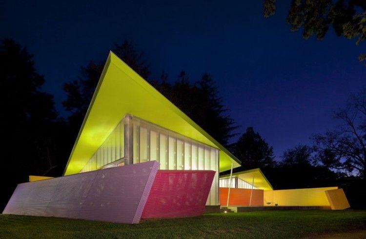 Neon house