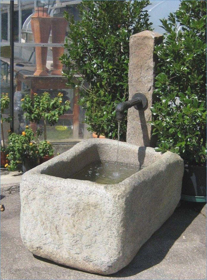 Moderner Brunnen Fur Den Garten Brunnen Garten Moderner