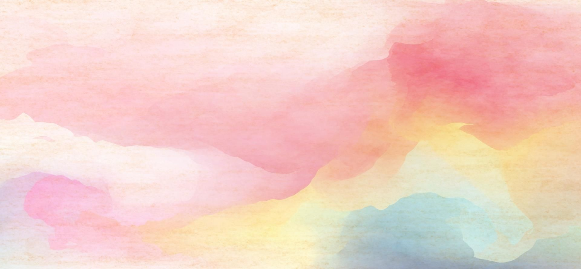 Watercolor Rendering Color Background Painting Sunrise Painting