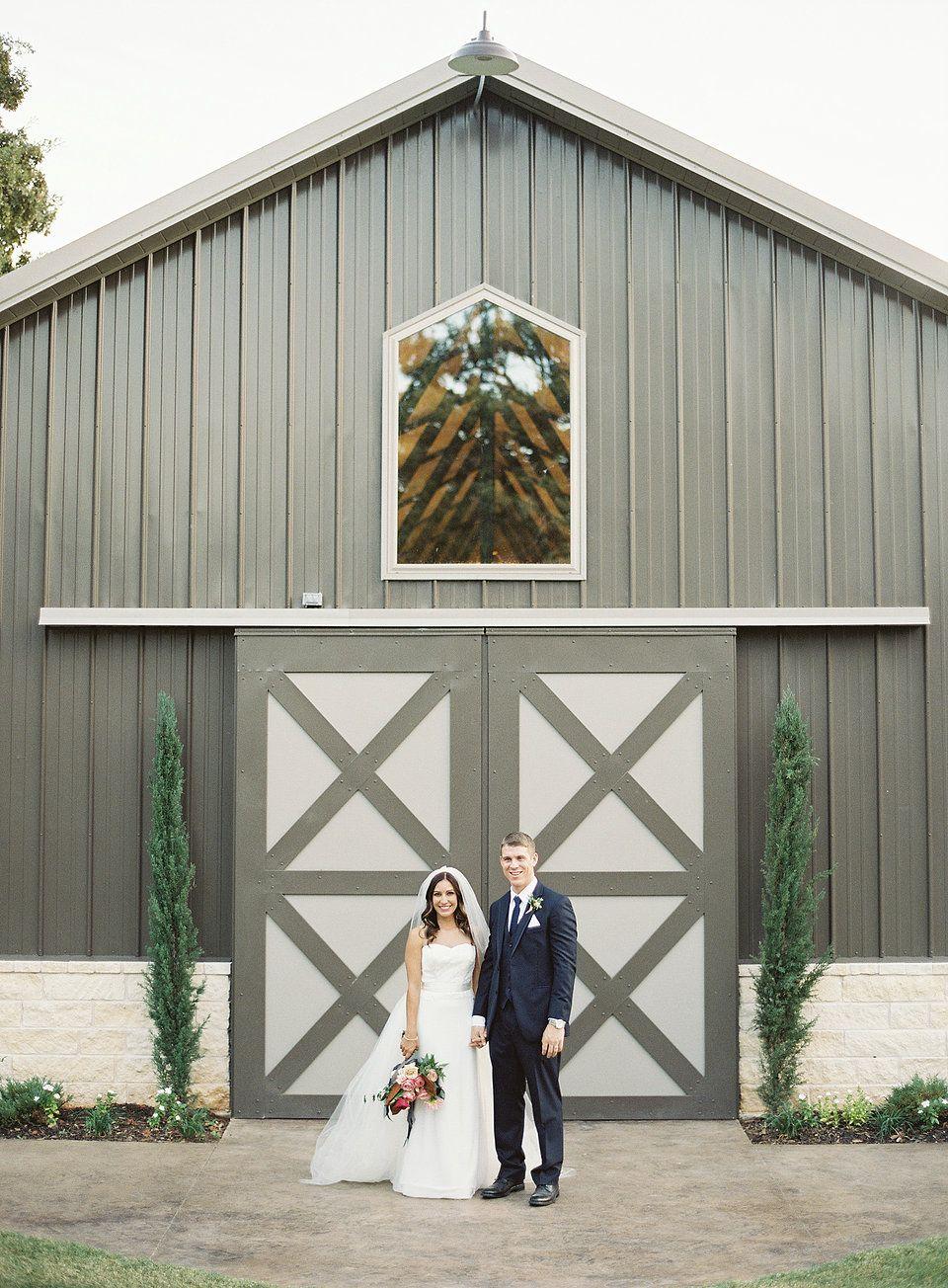 The Grove Wedding Venue Aubrey Texas V&C Wedding
