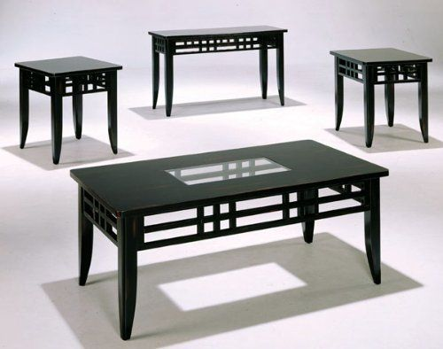 Best 3 Pc Pack Cocktail Table Set With Sofa Table In Antique 400 x 300