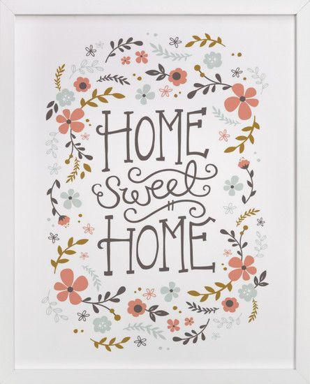 Home Sweet Home Decoraties Sweet Home Illustraties