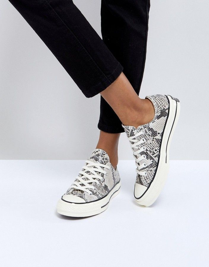 9a2f8d65db37 Converse Chuck Taylor All Star  70 Sneakers In Snake Print