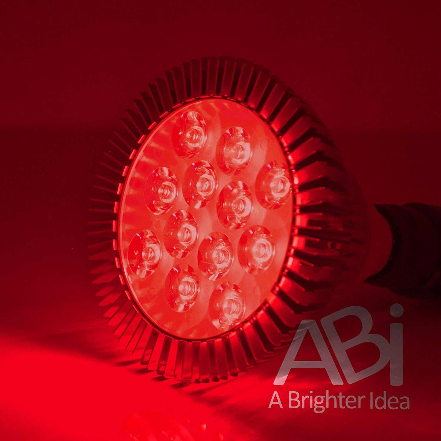 LED Light Therapy Bulb, 660nm Deep Red
