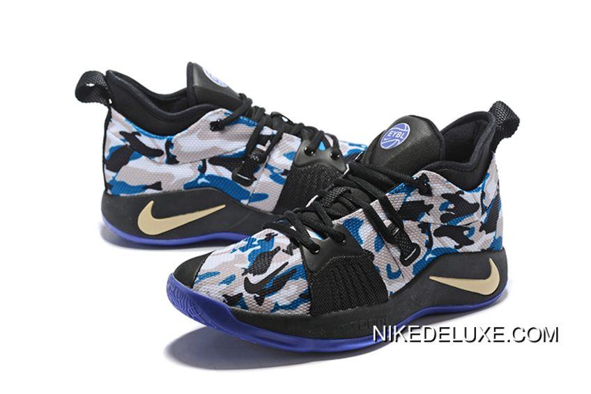 more photos 35465 4b62f Nike Pg 2 Eybl Camo Mens Basketball Shoes Copuon in 2019 ...