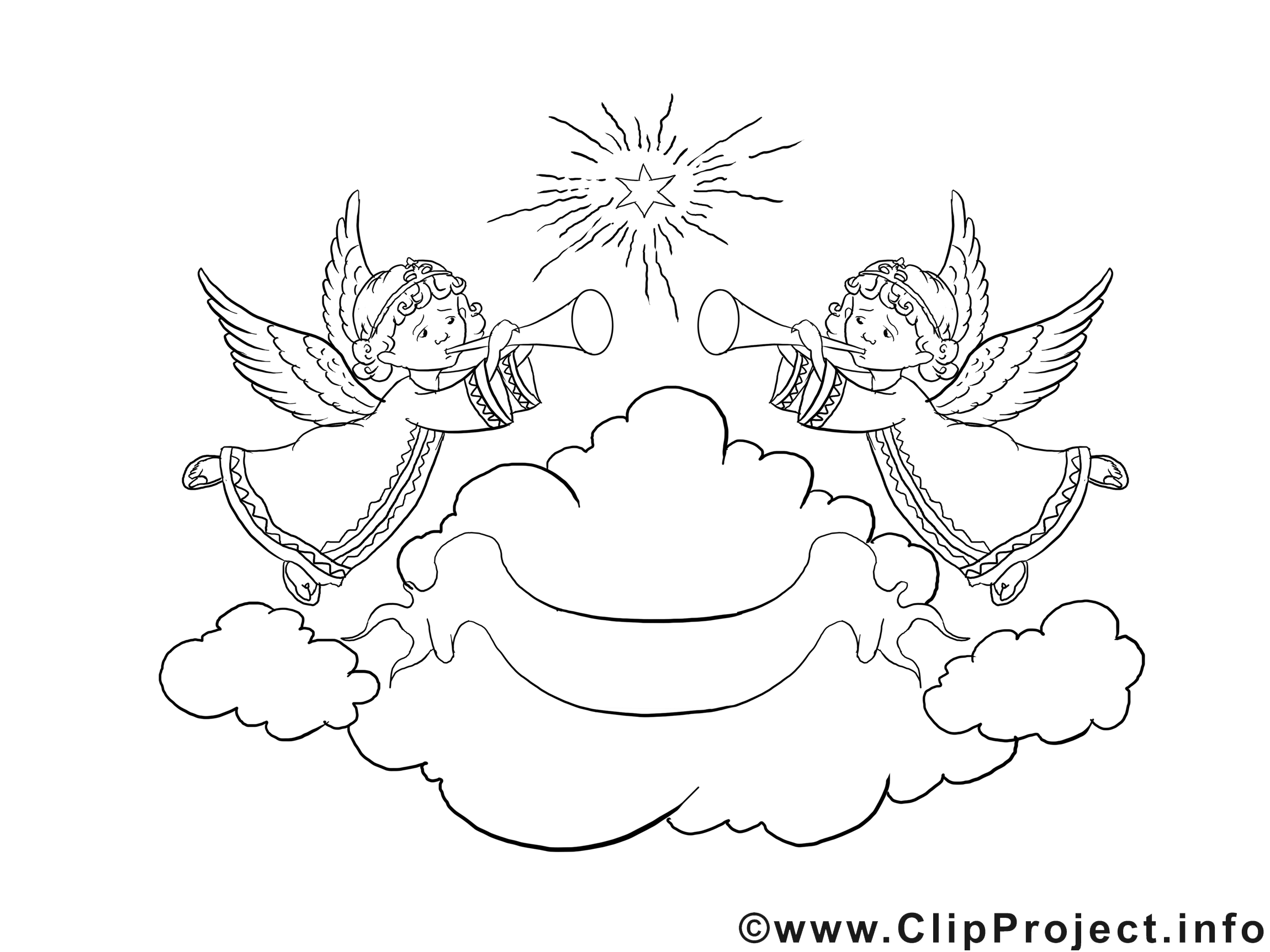 Advent Ausmalbild Engel Im Himmel Kostenlose Ausmalbilder Ausmalbilder Ausmalen