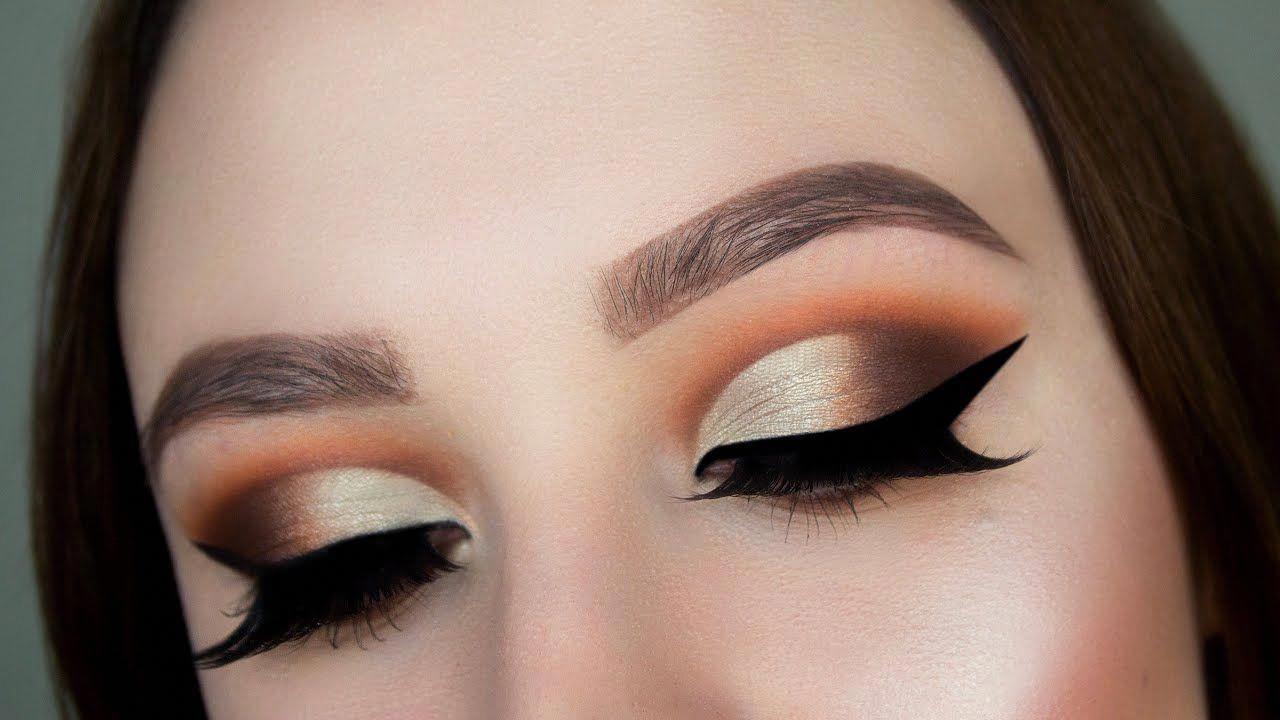 Jaclyn Hill X Morphe Palette Half Cut Crease Makeup Tutorial