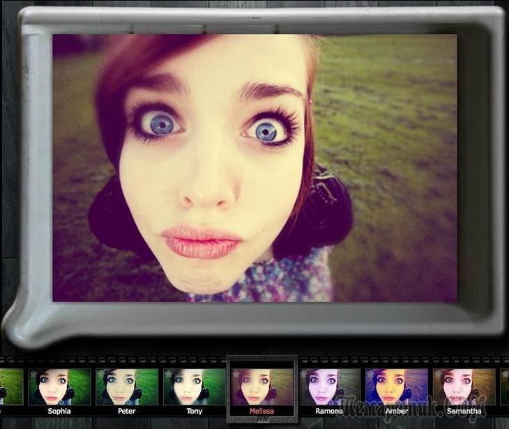 Поменять лица местами на фото результате