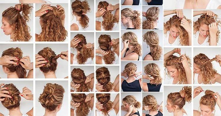 Peinados Bonitos Y Sencillos Paso A Paso Aqua Peinados Para Cabello Rizado Peinados Poco Cabello Tutoriales De Peinados