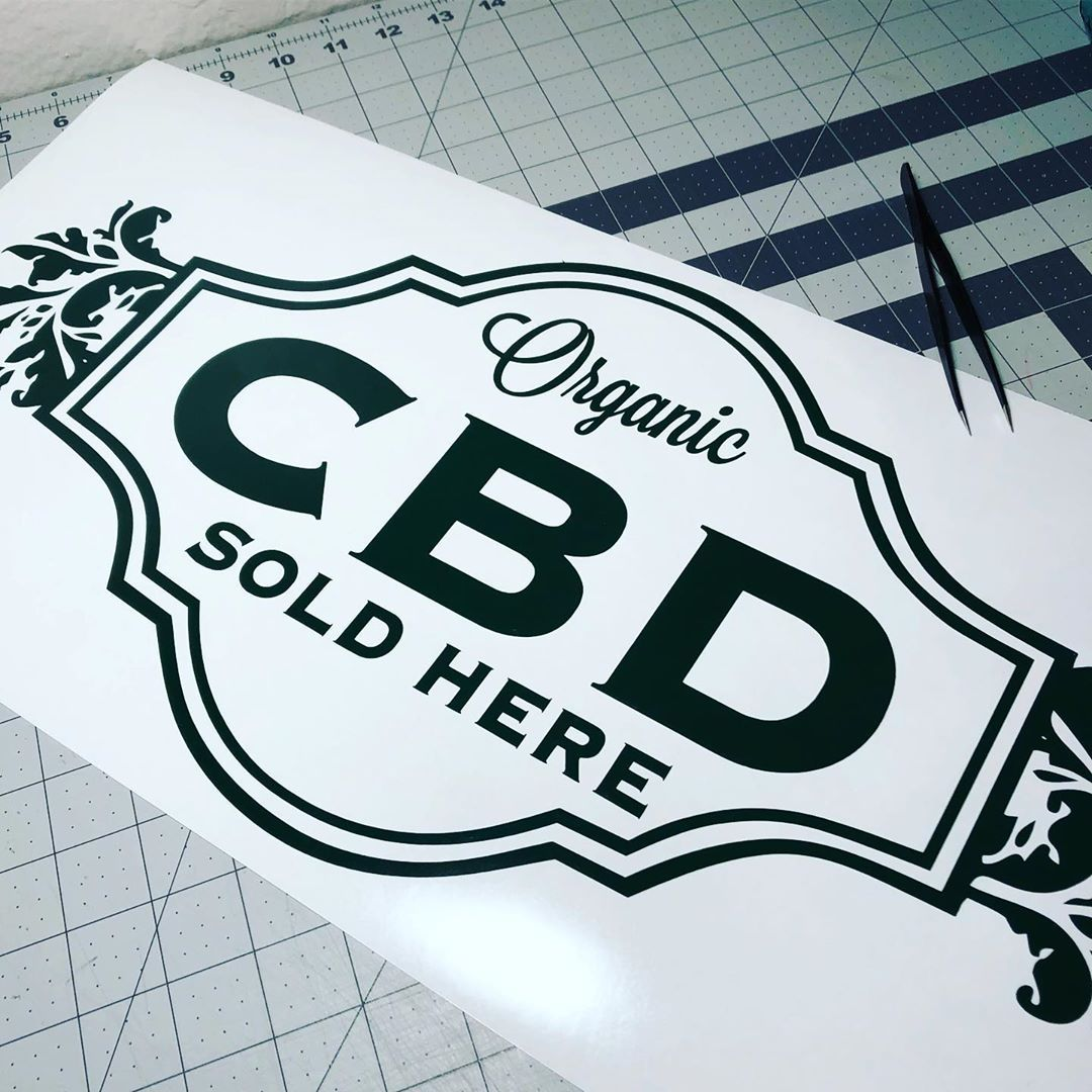 """CBDstickerstore on Instagram """"Do you need to advertise"""