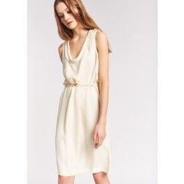 le magasin les dernières nouveautés grande variété de styles Robe crème sans manches @ TARA JARMON | Sélection mariage ...