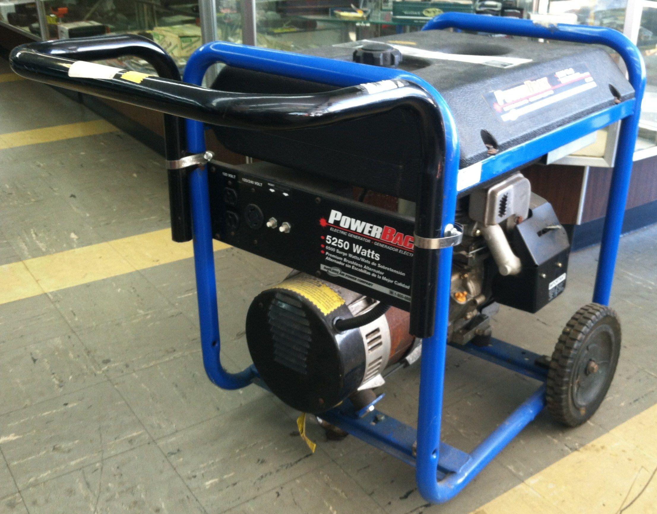 Devilbiss Back Gt5250 Generator 599 95