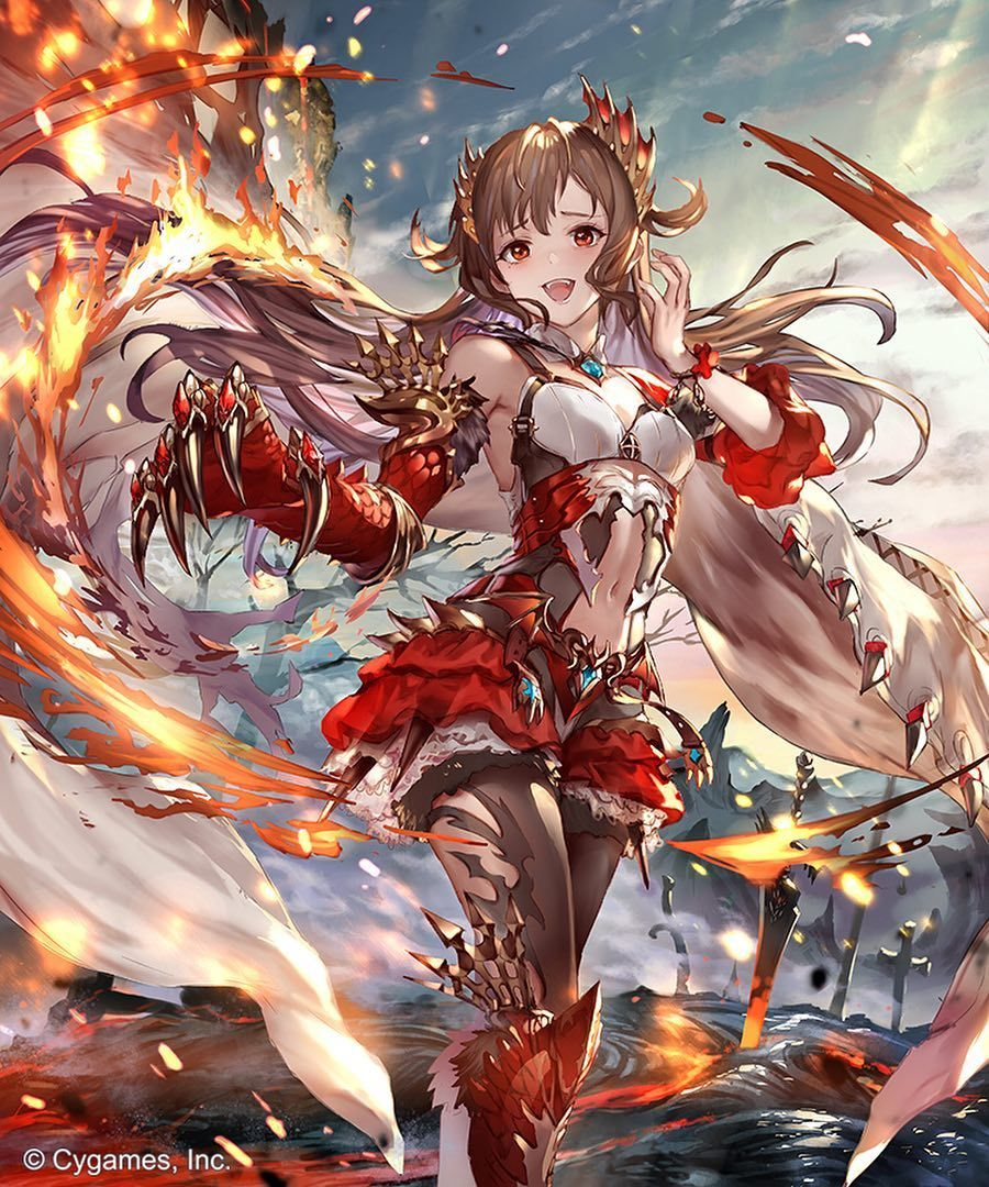 Iphone Wallpaper Granblue Fantasy Army Anime Www Picturesboss Com
