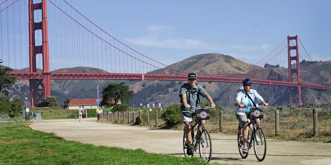 Big City Deals Bike tour, California sunset, San