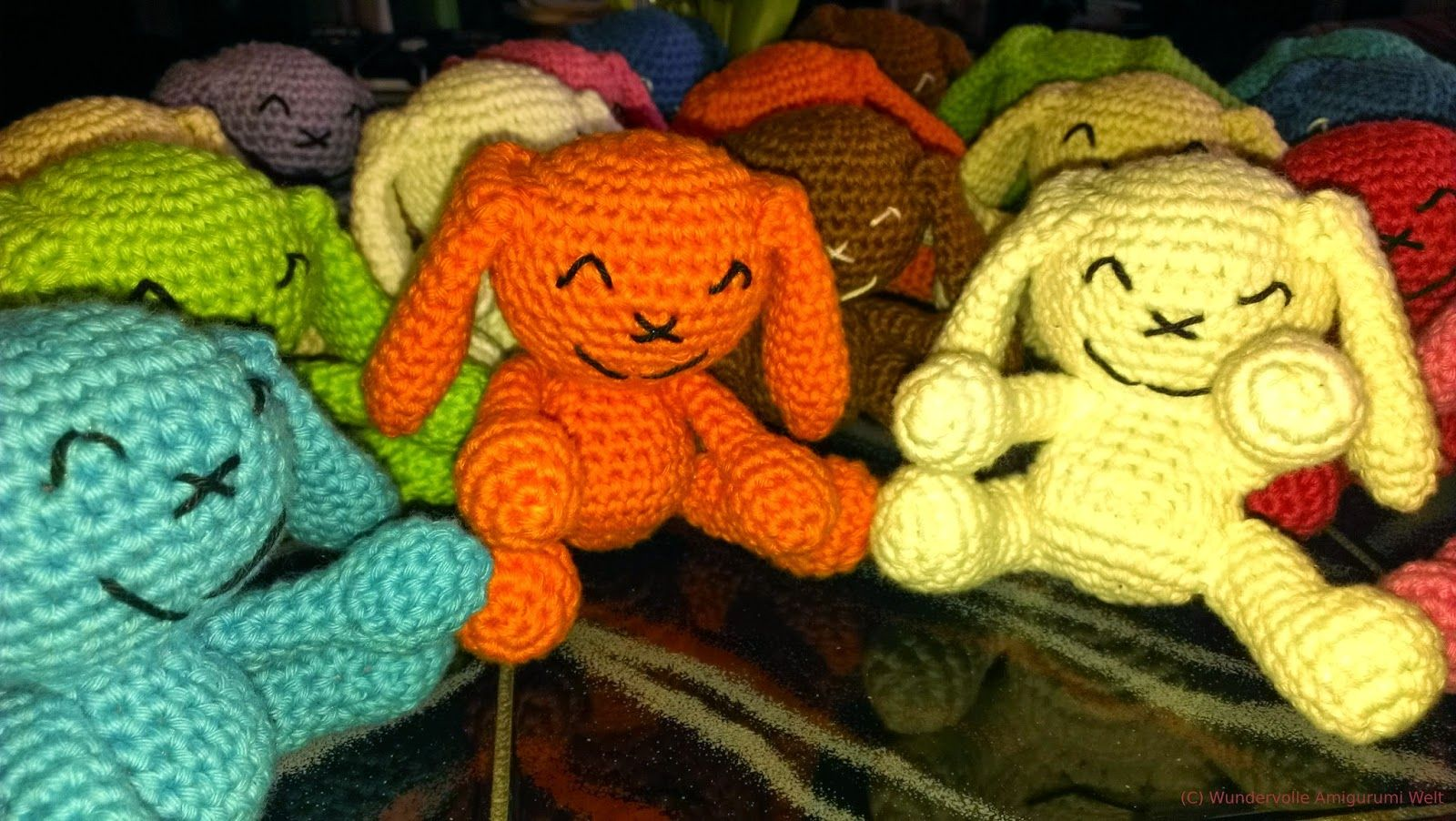 amigurumi häkeln crochet kostenlos hase häschen ostern bunny bunnies ...