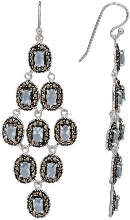 Kohls le vieux marcasite and glass sterling silver chandelier kohls le vieux marcasite and glass sterling silver chandelier earrings made with swarovski marcasite beautiful silver earrings pinterest silver aloadofball Image collections
