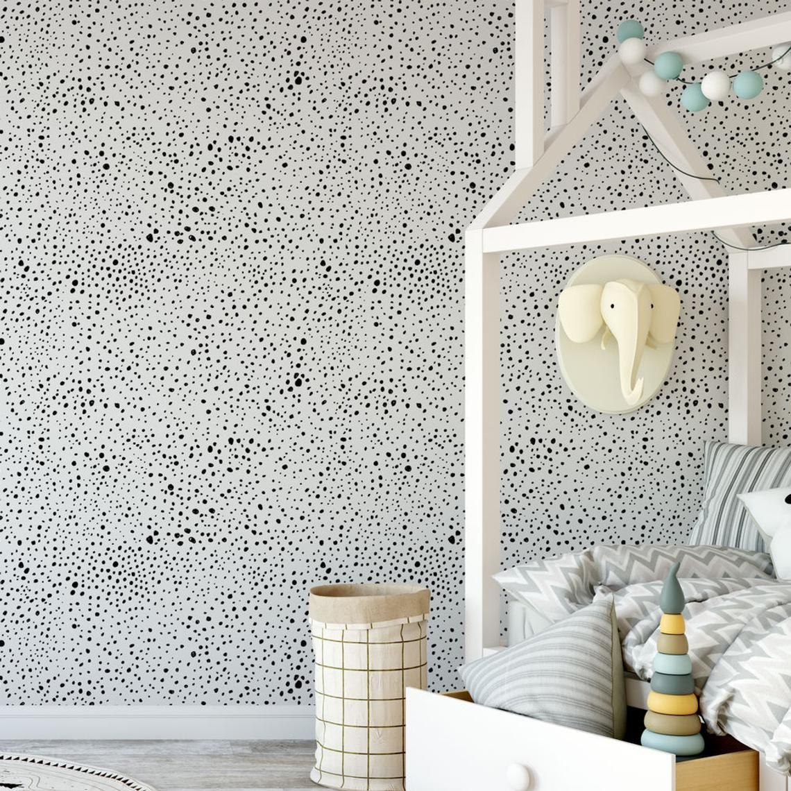 Ink Splatter Removable Wallpaper G18527 in 2019