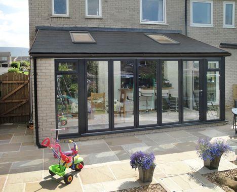 Tiled Roof Conservatory Solid Roof Conservatory Kingfisher Windows Terraceroofingideas Cuisine Jardin D Hiver Veranda Encastree Extension Maison Bois