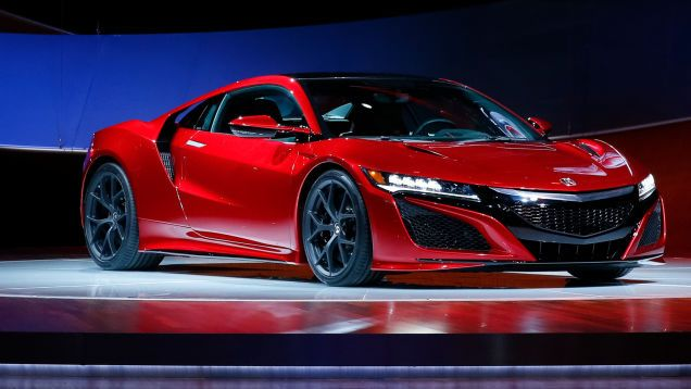 This Is Your Stunning 2016 Acura NSX Mega Photo Gallery ...
