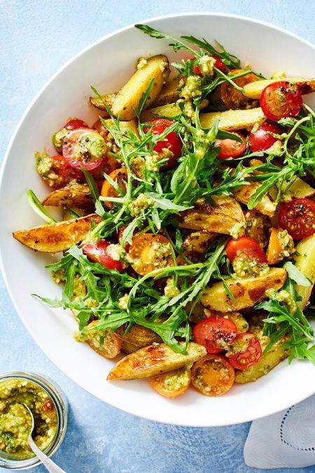 Kartoffelsalat mit Cashew-Pesto Rezept   LECKER