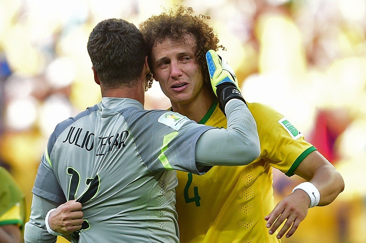 There is crying in soccer, especially for Brazil at the World Cup ...