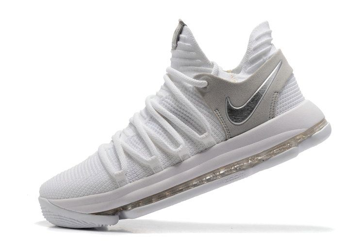 new styles 8cfa7 1ddd5 Free Shipping Only 69  Nike KD 10 Still KD White Chrome Pure SiLVSer  897815-100