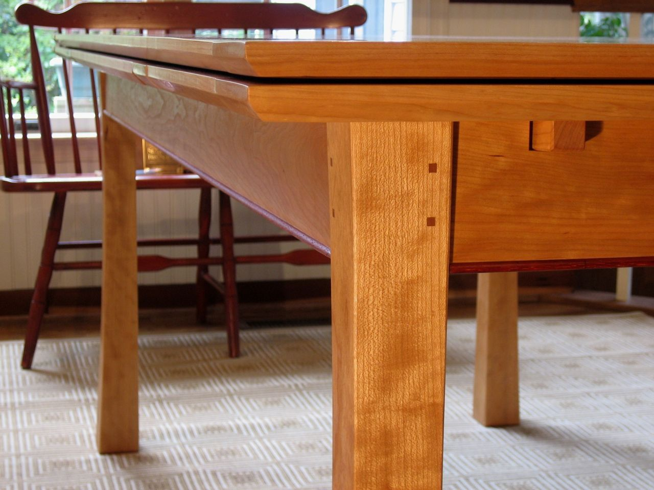 Custom Made 'dutch Pull Out' Dining Table  Stuff  Pinterest  Dutch Prepossessing Custom Made Dining Room Tables Inspiration Design