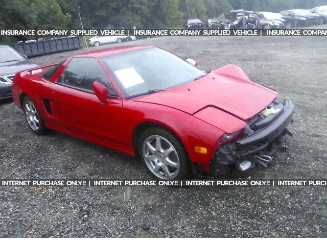 Salvage 2001 Acura Nsx T Coupe For Sale Salvage Title