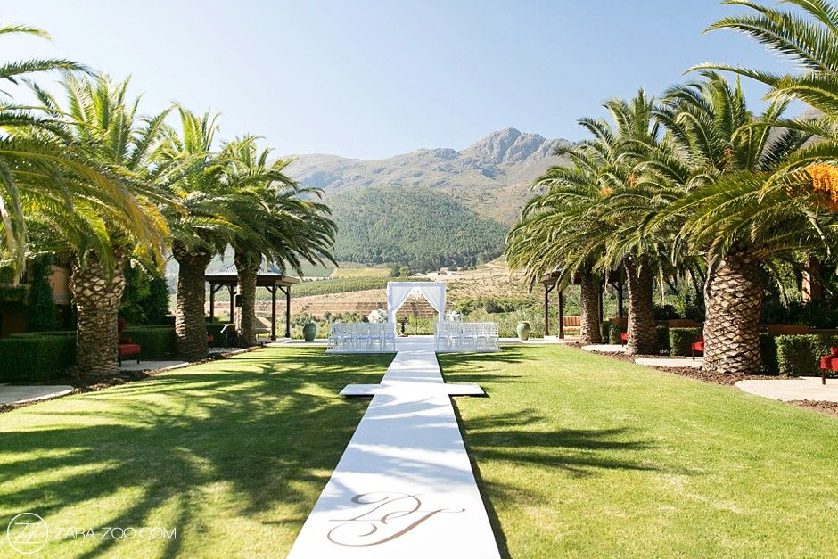 La Residence Franschhoek Wedding Venue Review Cape town