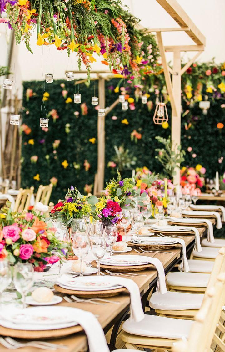 40 Awesome Wedding Reception Table Setting Ideas