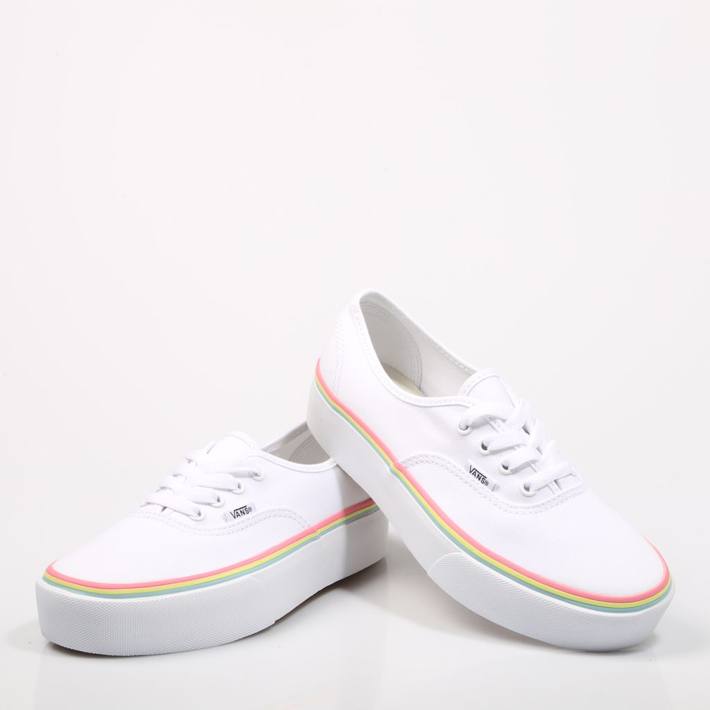 vans authentic plataforma
