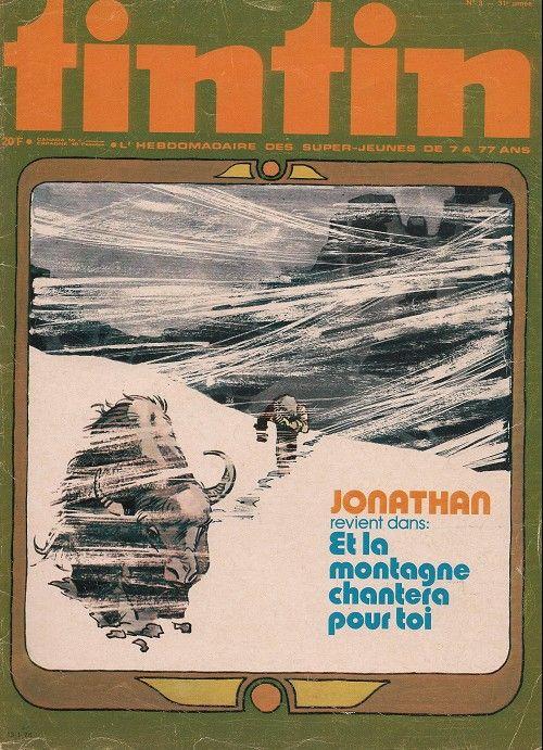 Le Journal de Tintin - Edition Belge - N°  1530 - 1976-03 - Mardi 13 Janvier 1976 - Couverture : Bernard Cosey