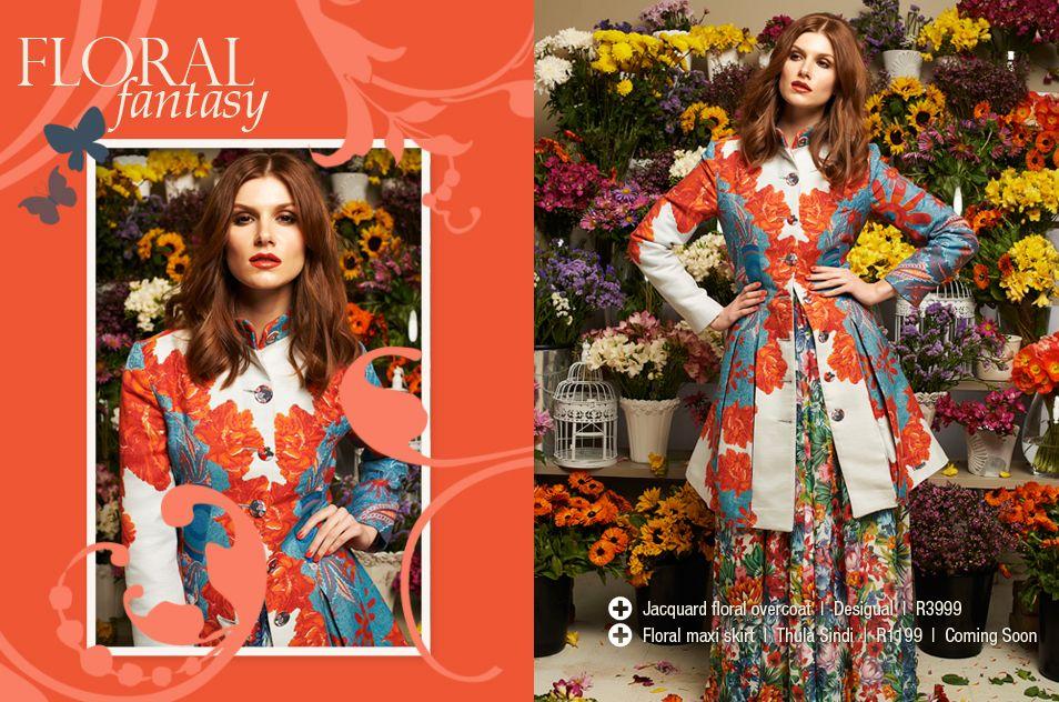 November Issue 2012 - Floral Fantasy