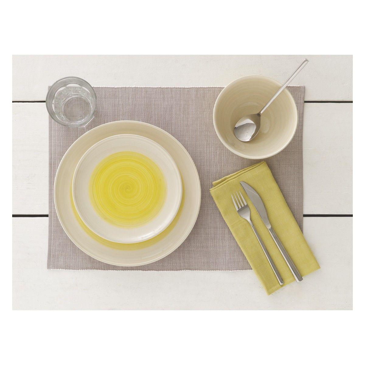 ASPRA Mirrored 24 piece cutlery set  sc 1 st  Pinterest & ASPRA Mirrored 24 piece cutlery set | Cereal bowls Yellow dinner ...