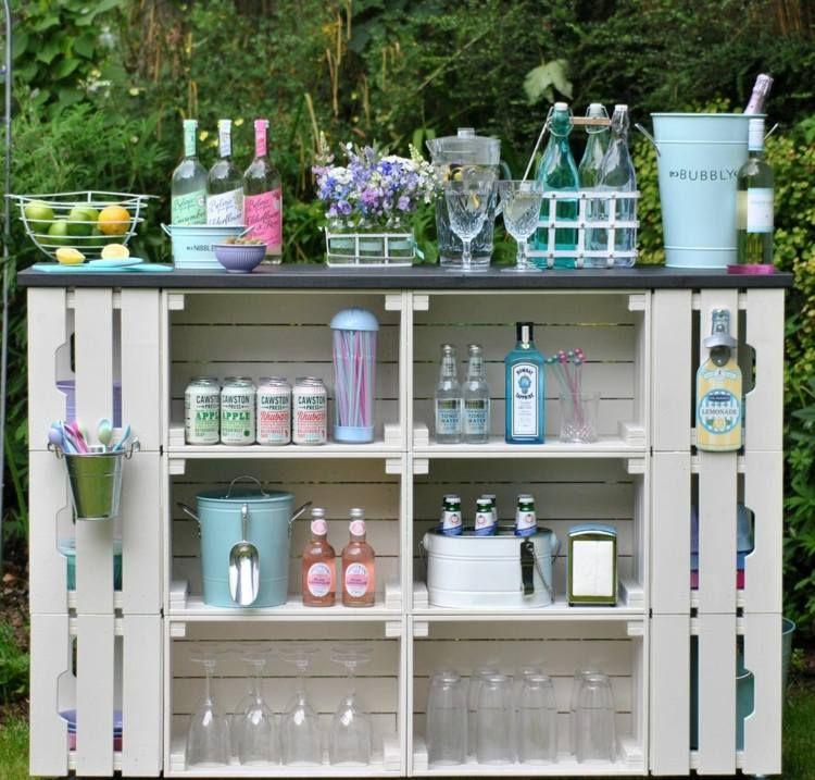 Photo of Tavolo alto da giardino – 16 idee per tavolo da giardino decorativo e utile