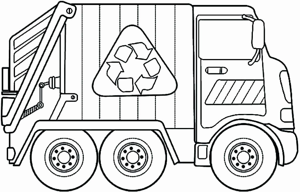 Garbage Trucks Coloring Pages Best Of Truck Coloring Pages Pdf In 2020 Monster Truck Free Truck