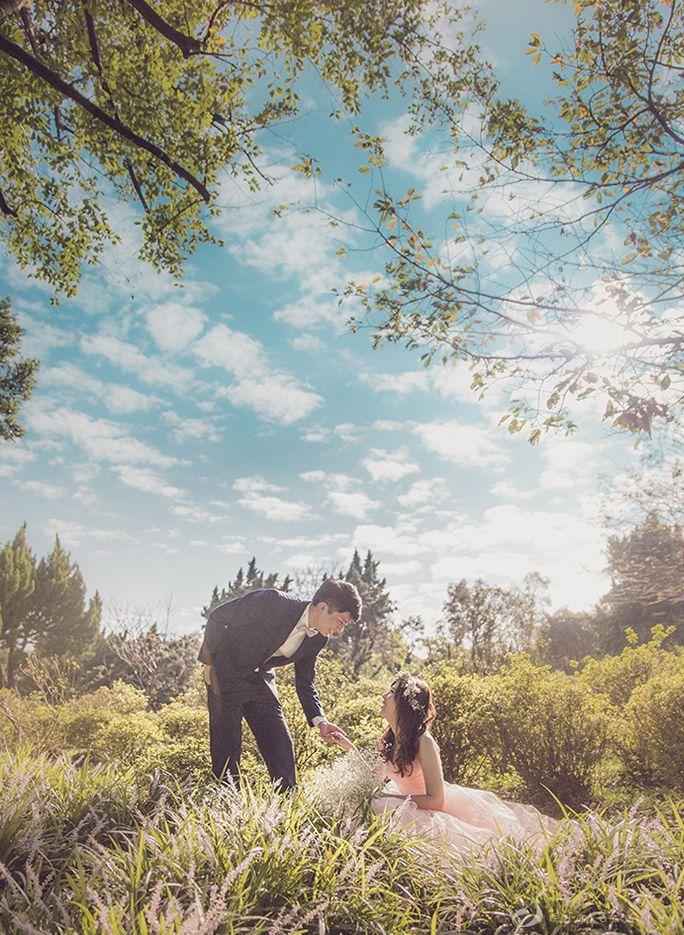 台北婚紗 花卉實驗中心 sosi婚紗130