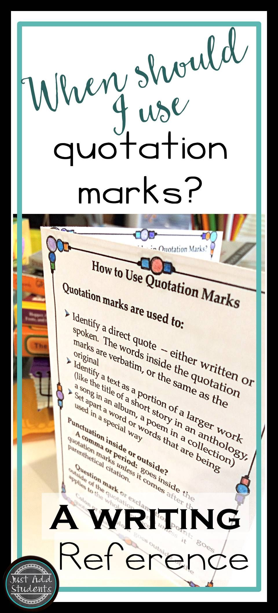 Quotation Marks  Quotation Mark Easy Grammar And Students
