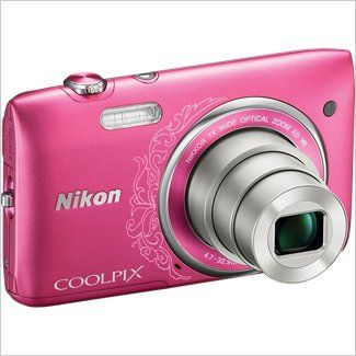Shop Nikon COOLPIX S3500 20 Megapixel Digital Camera - Pink online at lowest price in india and purchase various collections of Point & Shoot Digital Cameras in Nikon brand at grabmore.in the best online shopping store in india
