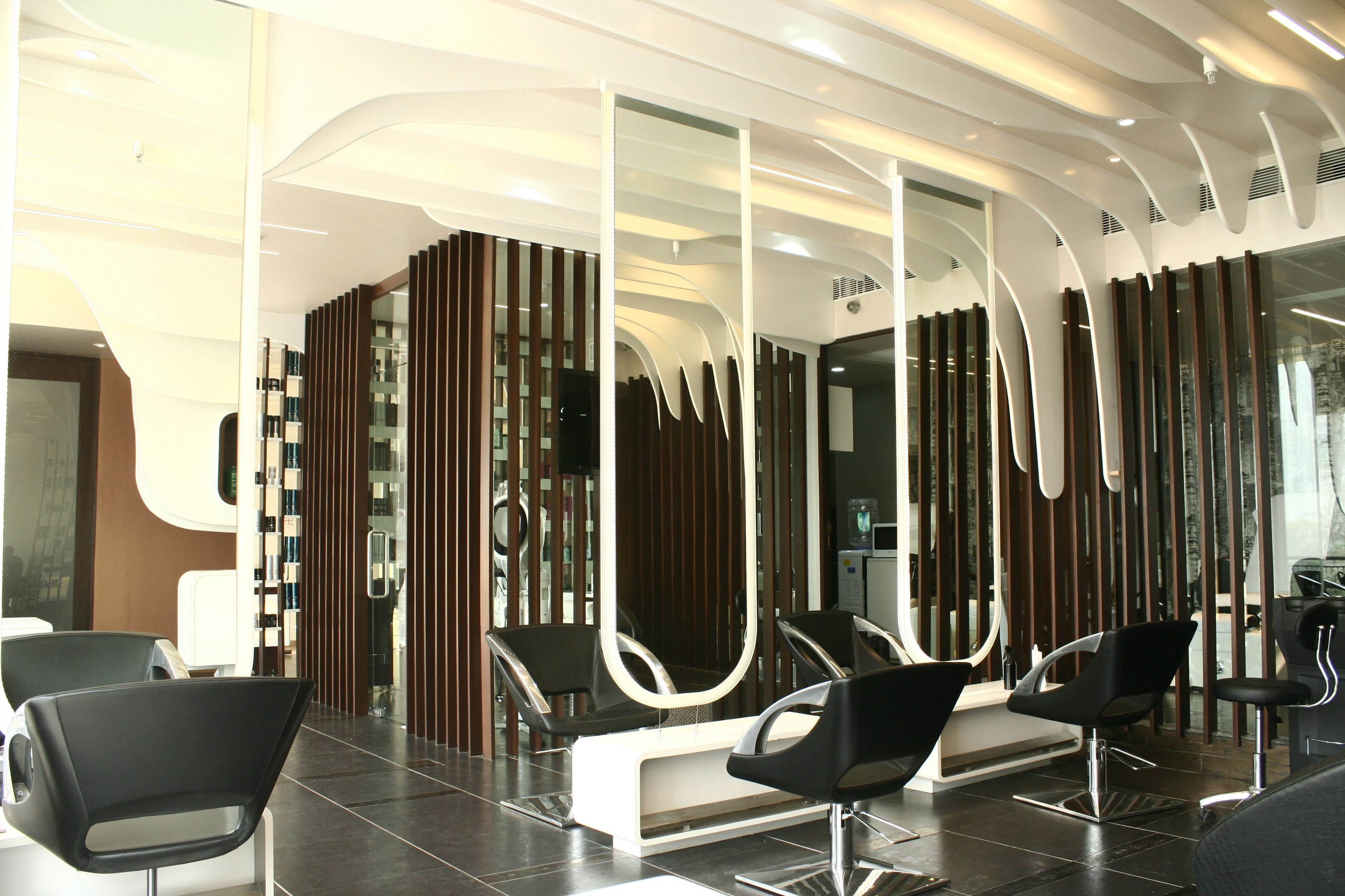 Charming Architecture And Interior Design Projects In India   Toni U0026 Guy Salon At  Gurgaon   Manish